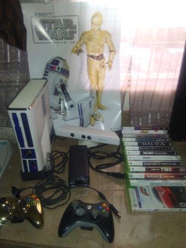 Xbox 360 Kinect Edicion Especial Star Wars Prefecto Estado.