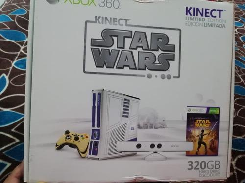Xbox 360 Kinect Star Wars Limited Edition Con Juegos