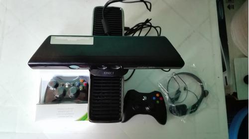 Xbox 360 Slim Con Kinect, Disco Duro De 250gb Y 4 Juegos