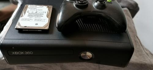 Xbox 360 Slim Con Rgh Y Disco Duro De 500