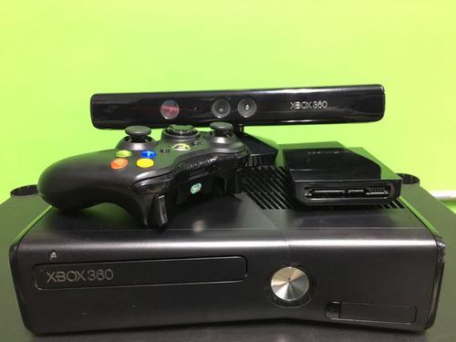 Xbox 360 Slim Juegos Incluidos Disco Duro De 250 Gb
