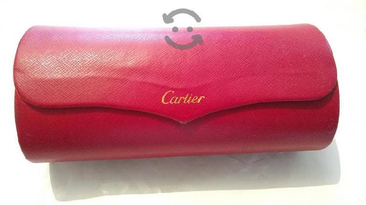estuche de lentes Cartier original