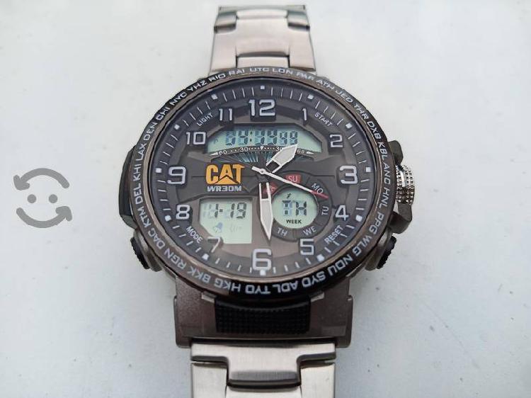 reloj cat de cuarzo