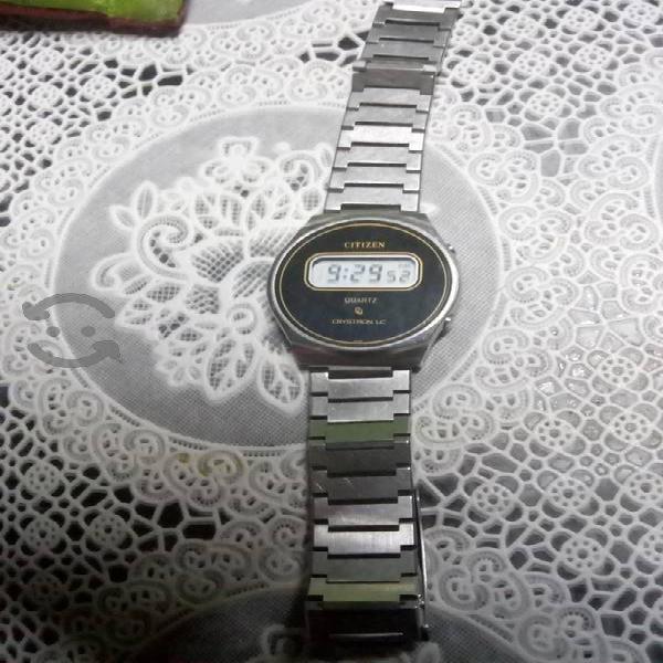 reloj citizen quartz Cryston LC