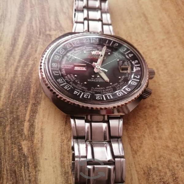 reloj orient world diver
