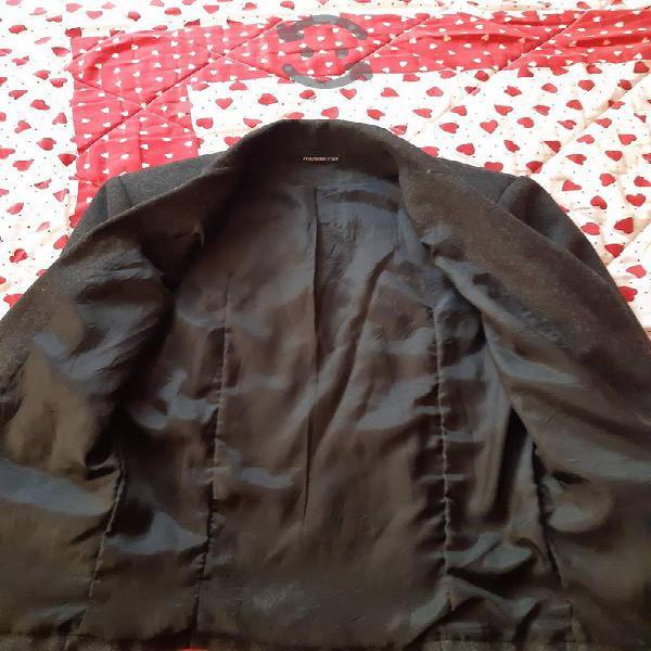 saco gris marca mossimo talla 38 a 40 juvenil