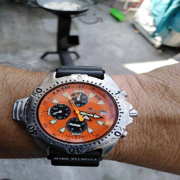 vendo reloj citizen pro máster divers 200 metros