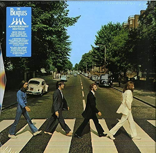Abbey Road Deluxe Anniversary - The Beatles 3 Cd + Blu-ray