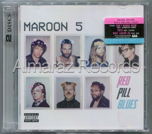 Maroon 5 Red Pill Blues Deluxe Edition 2cd