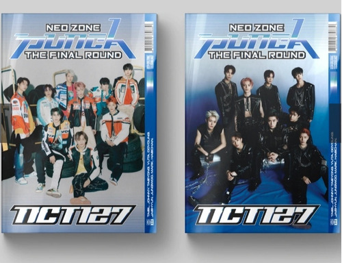 Nct 127 Álbum Repackage Neo Zone The Final Round + Regalos