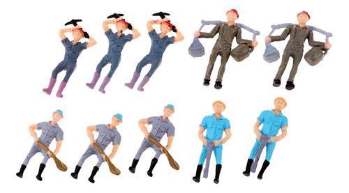 1/43 Modelos De Figuras De Acción De Los Trabajadores