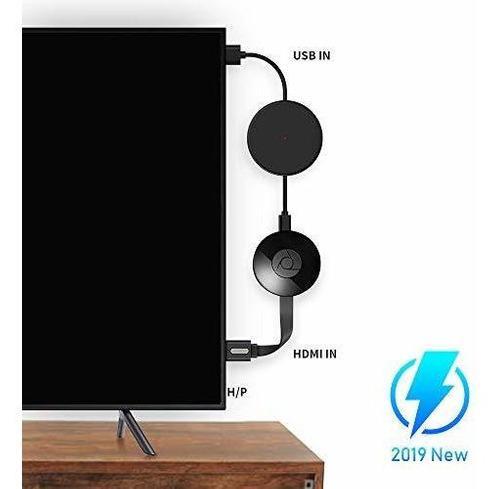 Cable De Alimentación Usb Para Accesorios Chromecast,