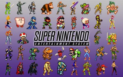 Emulador Nintendo Y Super Nintendo Configurado Con Juegos