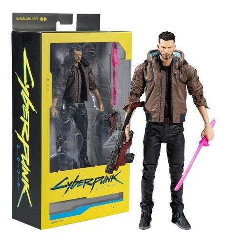 Figura Cyberpunk  Personaje V Mcfarlane