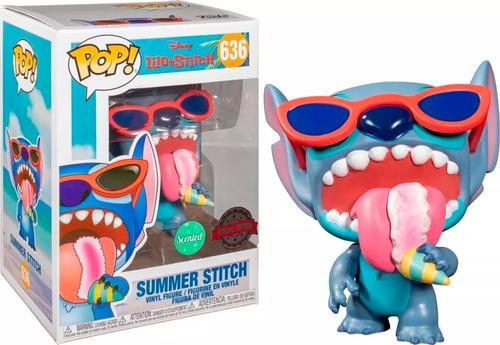 Funko Pop Summer Stitch #636 Lilo Stitch Aroma Serie Especia