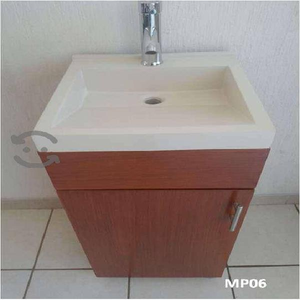 Gabinete mueble baño lavabo c monomnando MODERNO