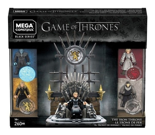 Game Of Thrones El Trono De Hierro Black Series 258ps Oferta