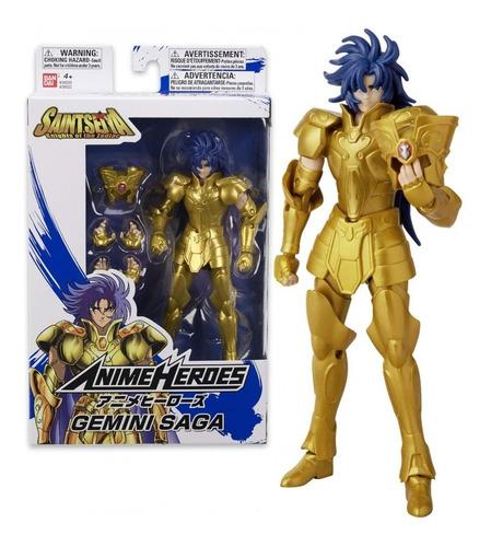 Gemini Saga Anime Heroes Caballeros Del Zodiaco Bandai