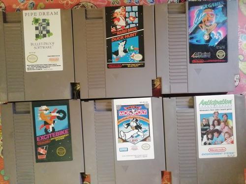 Increíble Lote De Juegos Para Nintendo Nes De Colección!!!