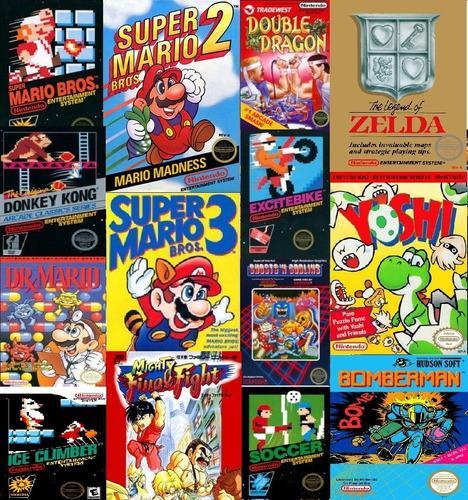 Juegos Nintendo Nes Super Coleccion Celular Android Y Pc