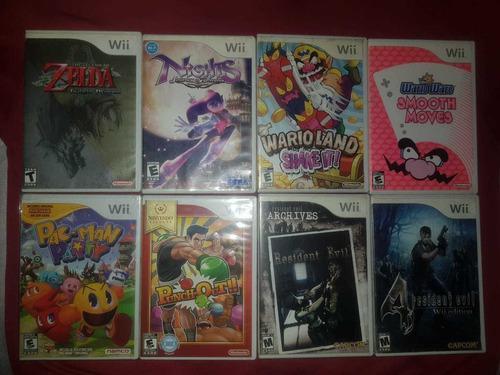 Juegos Para Nintendo Wii Zelda, Super Mario, Metroid, Wario