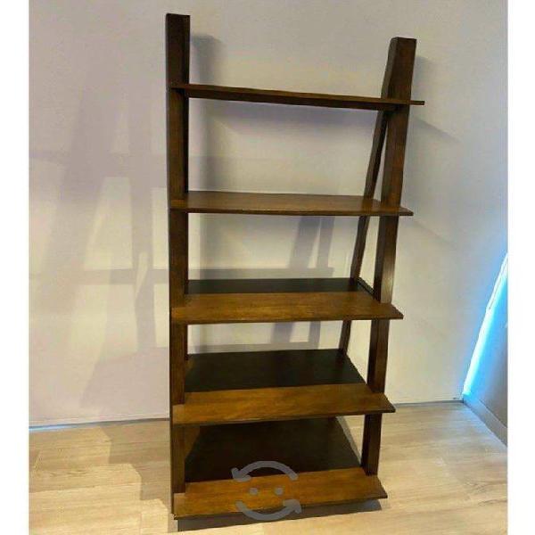 Librero Tipo Escalera De Madera