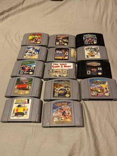 Lote De 14 Juegos De Nintendo 64