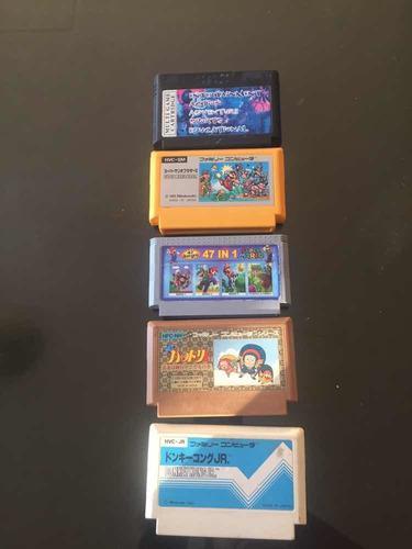 Lote De 5 Juegos Para Nintendo