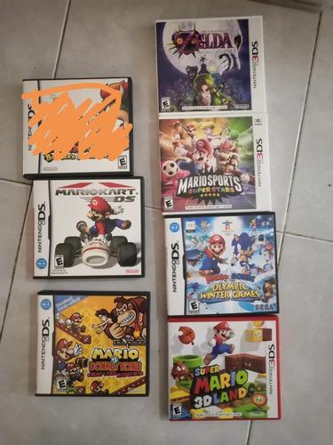 Lote De 6 Juegos Nintendo 3ds