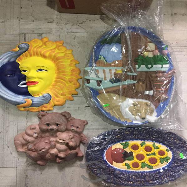 Lote de figuras de ceramica