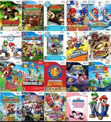 Memoria Usb 64gb Llena De Juegos Para Nintendo Wii