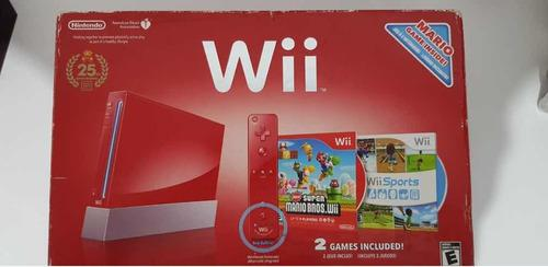 Nintendo Wii Versión 25 Aniversario