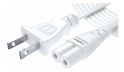 Pwr+ - Cable De Alimentación Para Televisores Samsung LG