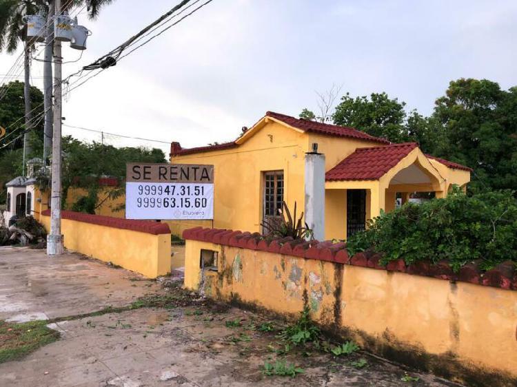 RENTA TERRENO CON LOCAL COMERCIAL AVENIDA PRINCIPAL