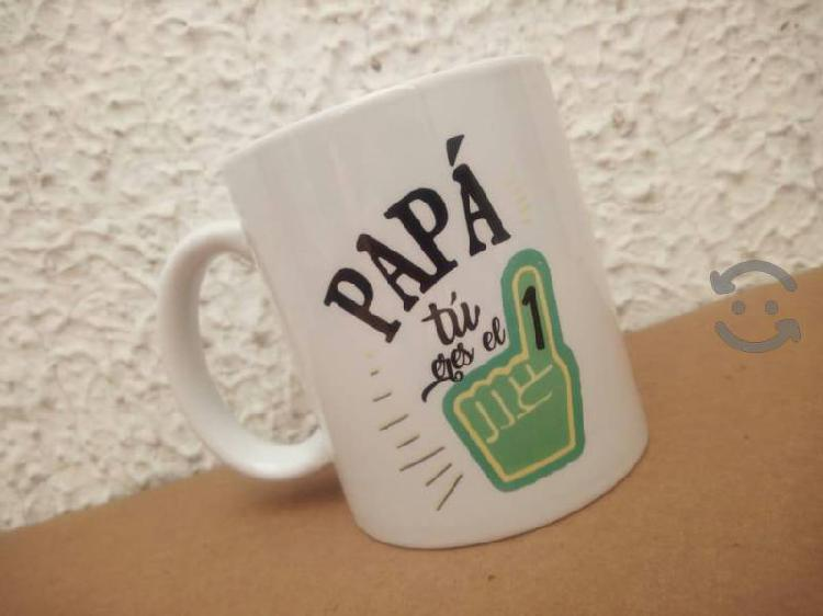 Regalo dia del padre, tazas de ceramica