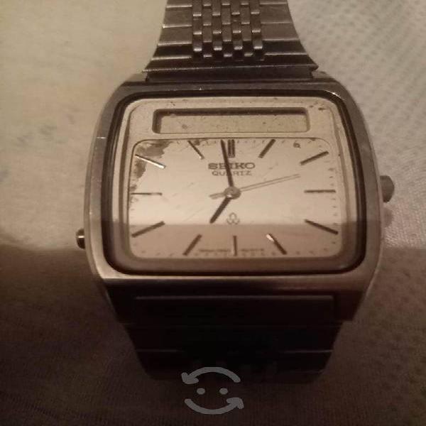 Reloj SEIKO Vintage Dual funciona Digital y Analog
