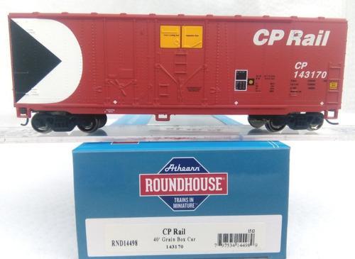 Roundhouse Caja 40' C P Rail Escala Ho 316