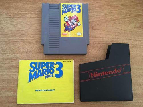 Super Mario Bros 3 Juego Para Nintendo Nes