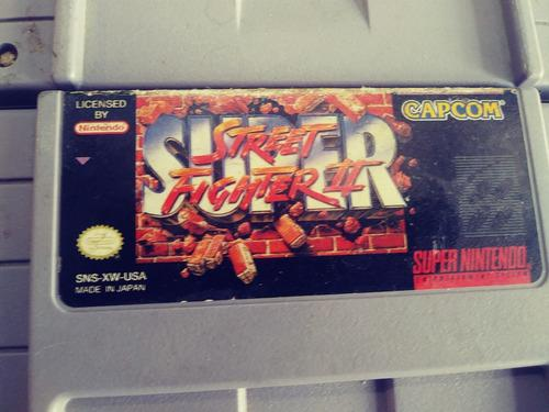 Super Street Fighter 2, Lote De 4 Juegos Snes Super Nintendo