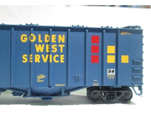 Vagon Airslide Golden West Escala Ho