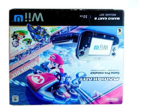 Wii U Mario Kart 8 Deluxe Set 32gb + Mando
