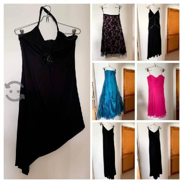 7 vestidos de noche en perfecto estado!!