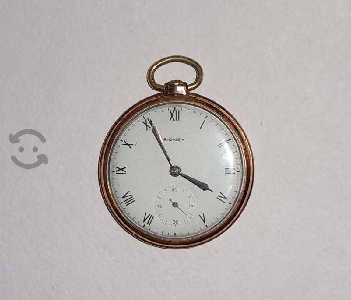 Antiguo reloj de bolsillo Sidney de Suiza 15 joyas