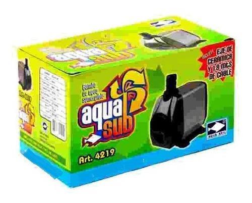 Bomba De Agua Sumergible 3000l/h Aquasub 4219