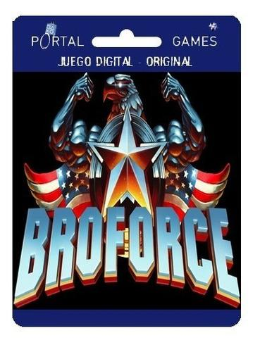 Bro Force Juego De 8 Bits Para Ps4