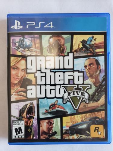 Grand Theft Auto V Juego Físico Para Ps4 Msi