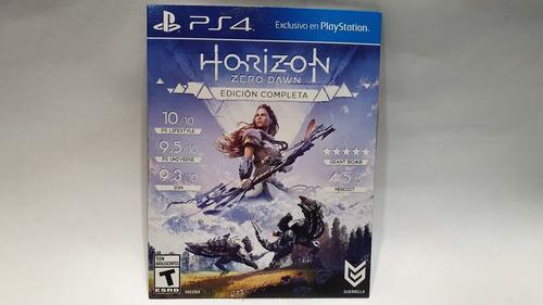 Horizon Zero Dawn Ps4 Edicion Juego Del Año Carton Juegazo