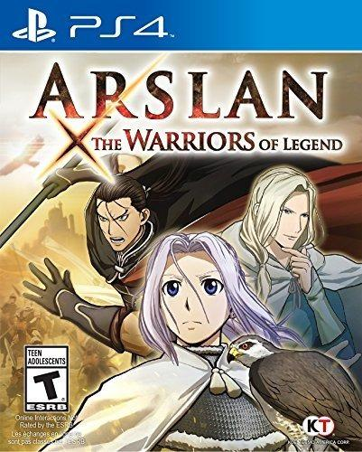 Juego Arslan: The Warriors Of Legend Playstation 4 Sellado