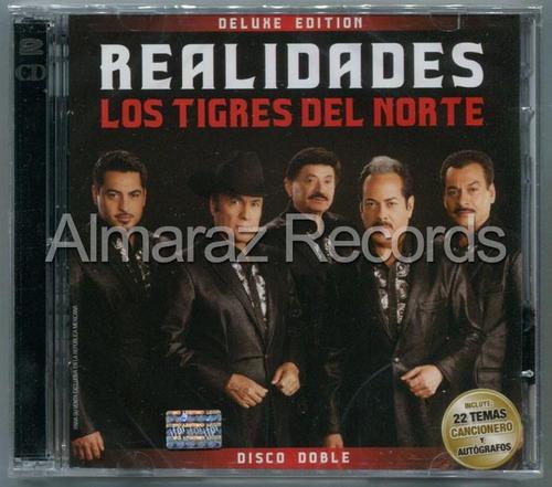 Los Tigres Del Norte Realidades Deluxe 2cd