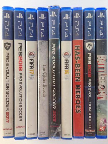 Lote De Juegos De Ps4 Playstation 4